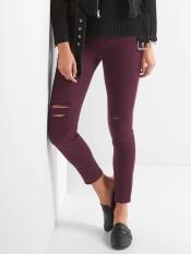 eggplant jeans