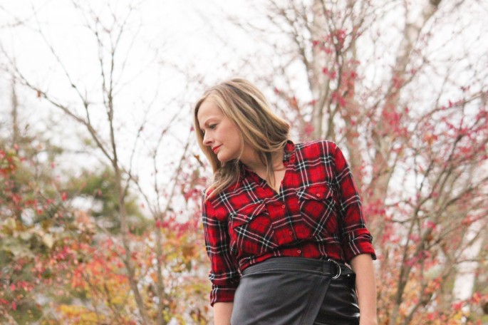 leather and plaid 1