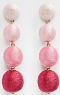shades of pink earrings aldo