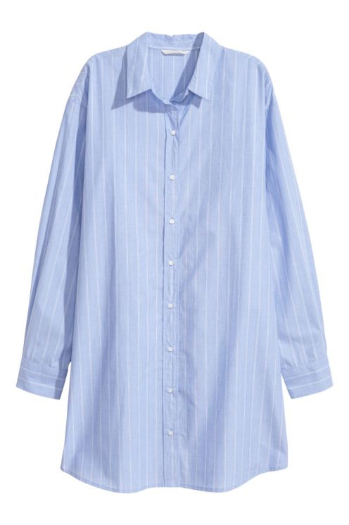 handm oversized button up