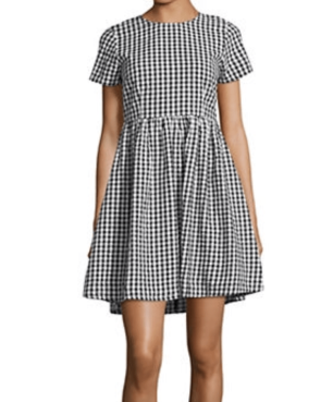 the bay gingham dress