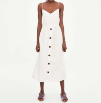 zara white dress front