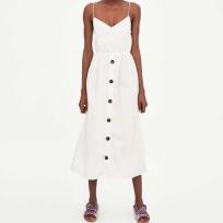 zara white dress front