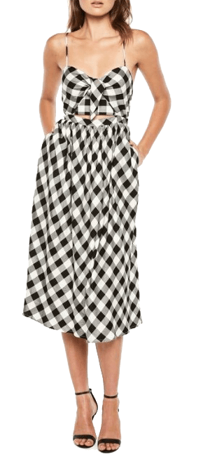 bow front midi dress nordstrom