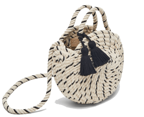 braided mini tote