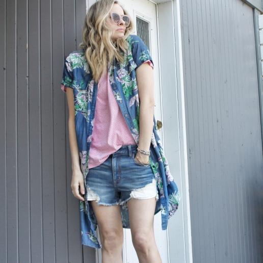 florl shirtdress as jacket 2