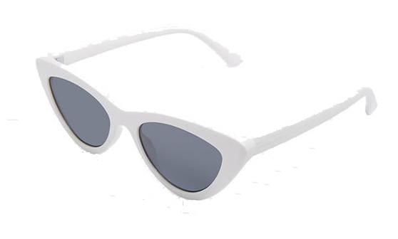 white aldo sunnies