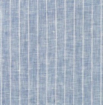blue pin stripe fabric