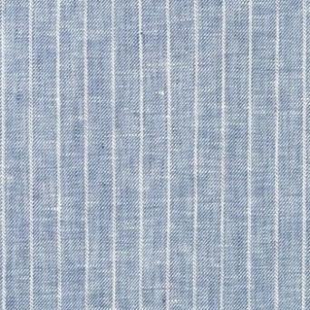 blue pin stripe fabric