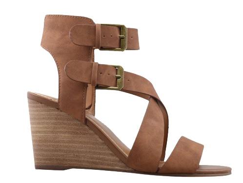 dsw nude wedge