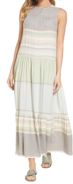 nordstrom striped maxi
