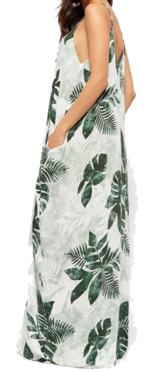 palm print maxi forever 21 side
