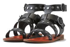 black studded gladiator sandals American Eagle Outfitters