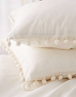 pom fringe pillows amazon
