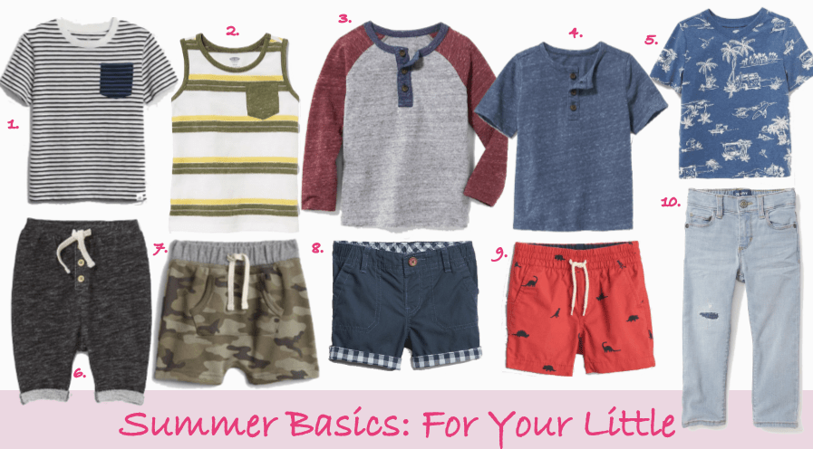 summer basics for your little