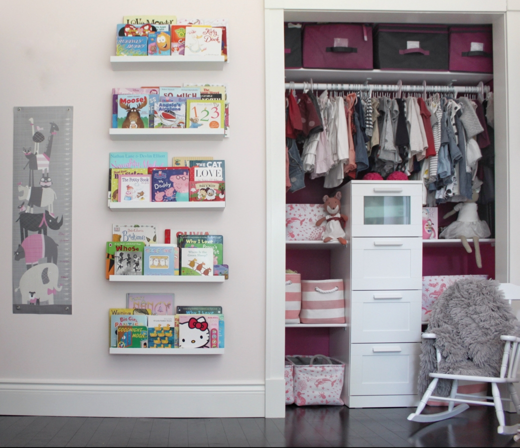 toddler-room-girls-pink-closet-and-ikea-bookshelves.jpg