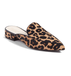 cole haan leopard mule