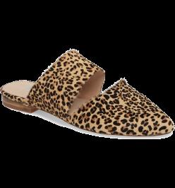 matisse leopard mule